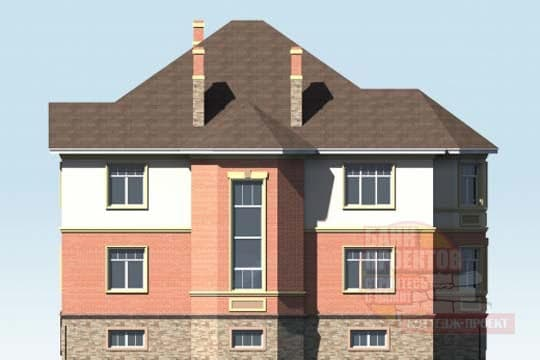 Элитный двухэтажный дом