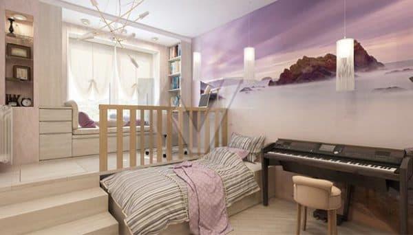 Комната для старшеклассницы