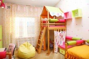Место для игр в детской