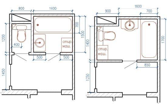 Увеличение пространства в квартире за счет ванной комнаты