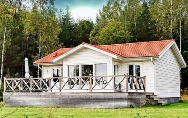Шведский каркасный дом