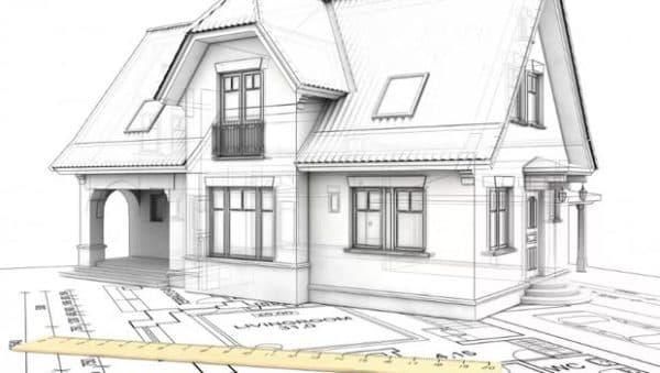 Технический план дачного дома