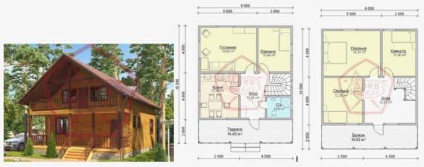 Планировка дома 8 на 10_3