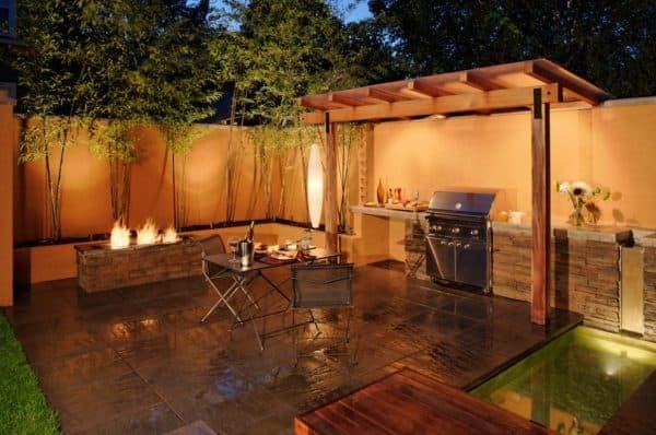 Выбор места для летней кухни