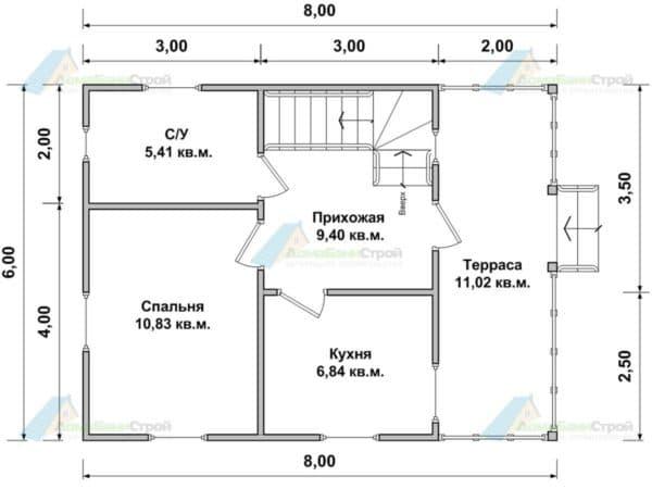 Проектирование первого этажа