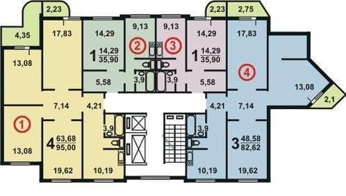 №2. План этажа