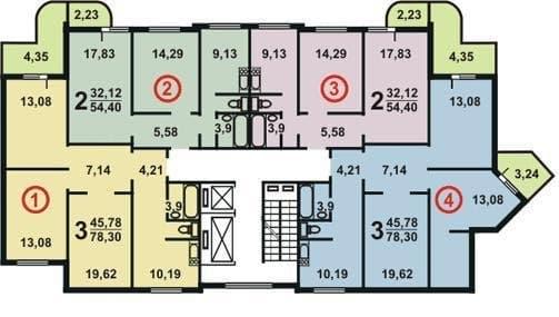 №3. План этажа