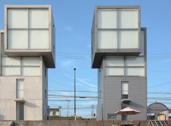 Дом 4 на 4 разработанный Тадао Андо