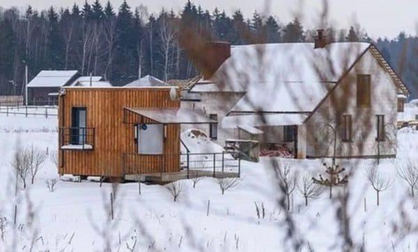 Дом по технологии немецкого архитектора