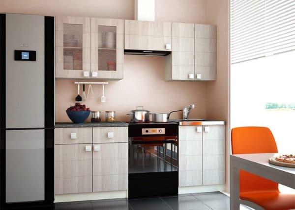 размещение кухонного гарнитура