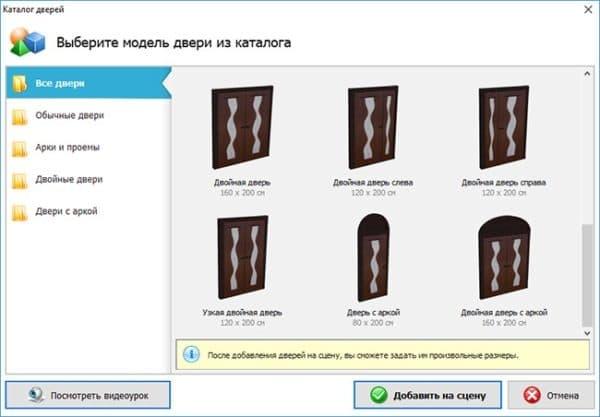 выбор дизайна гардероба