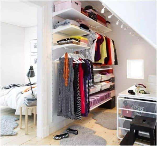 Использование пространства под лестницами