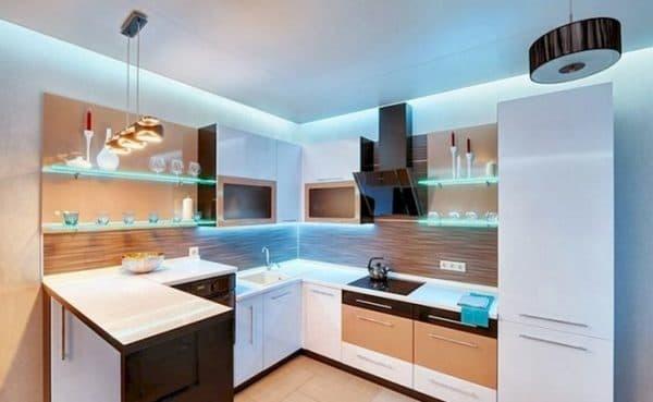 Ремонт и декор на маленькой кухне_1