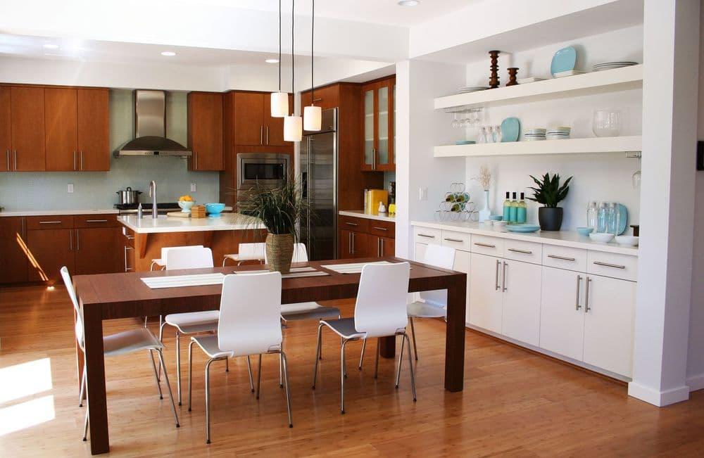 Дизайн кухонной комнаты