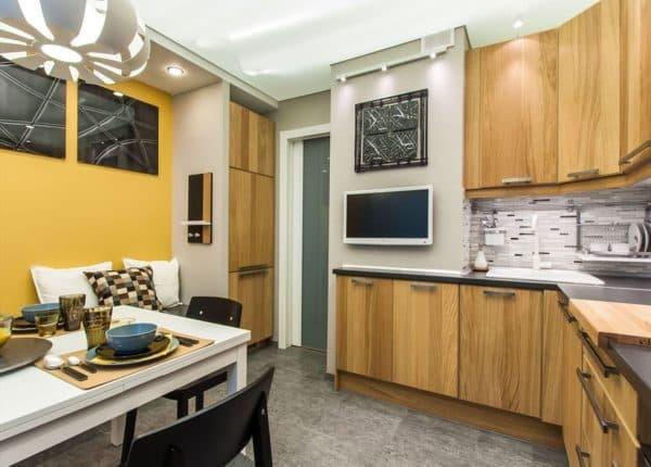 Дизайн кухни 10 кв. м