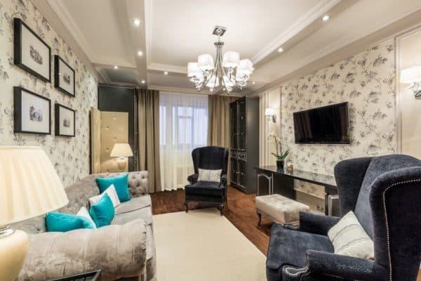 Расстановка мебели в гостиной_1