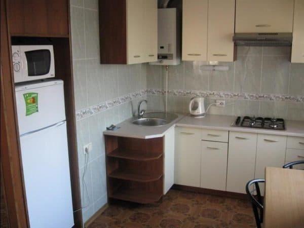 Размещение гарнитура на кухне