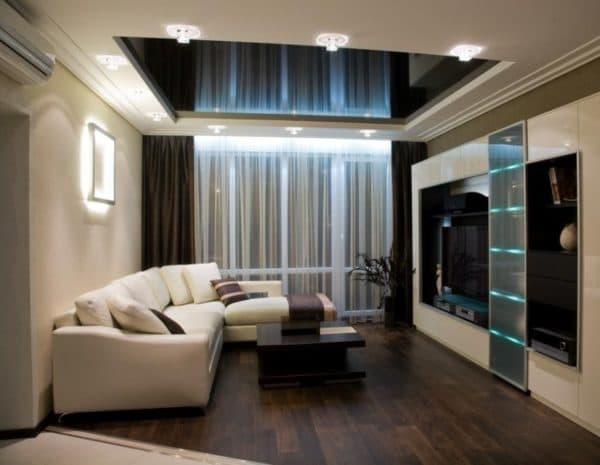 Зонирование гостиной в квартире