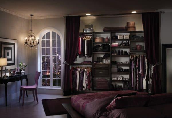 Расположение гардеробной в спальне_4
