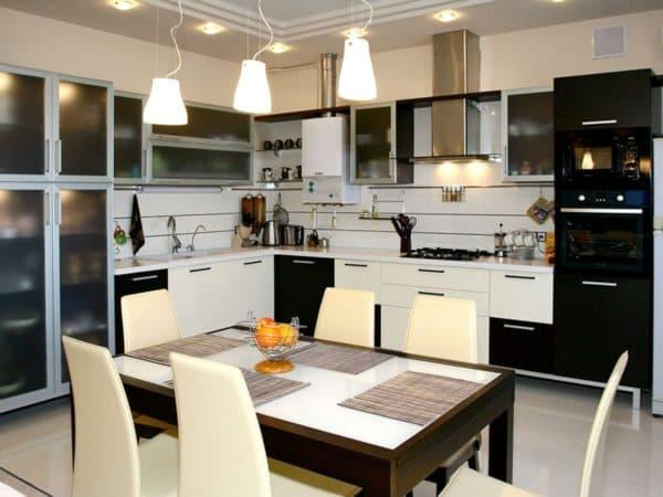 Освещение для небольшой кухни