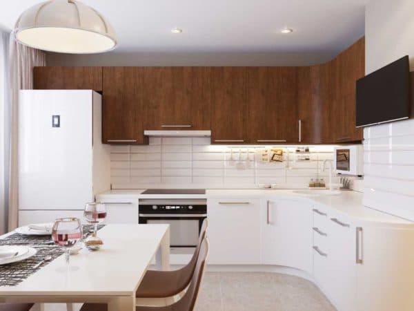 Дизайн маленькой кухни 9 кв. м _1
