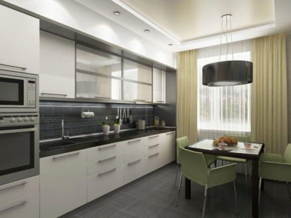 Примеры кухни 9 кв. м _1