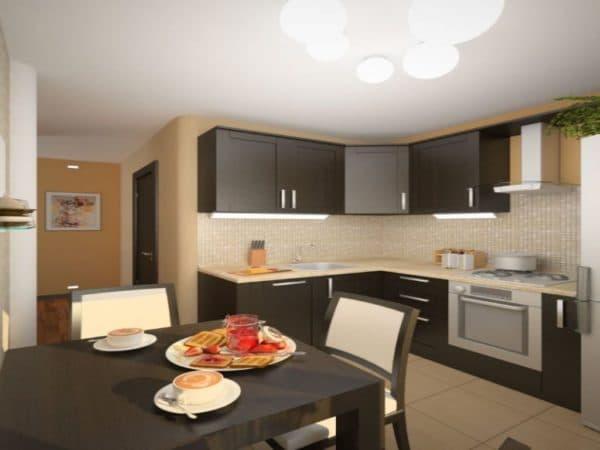 Примеры кухни 9 кв. м_3