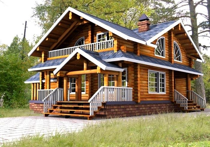 Дом в стиле русский терем