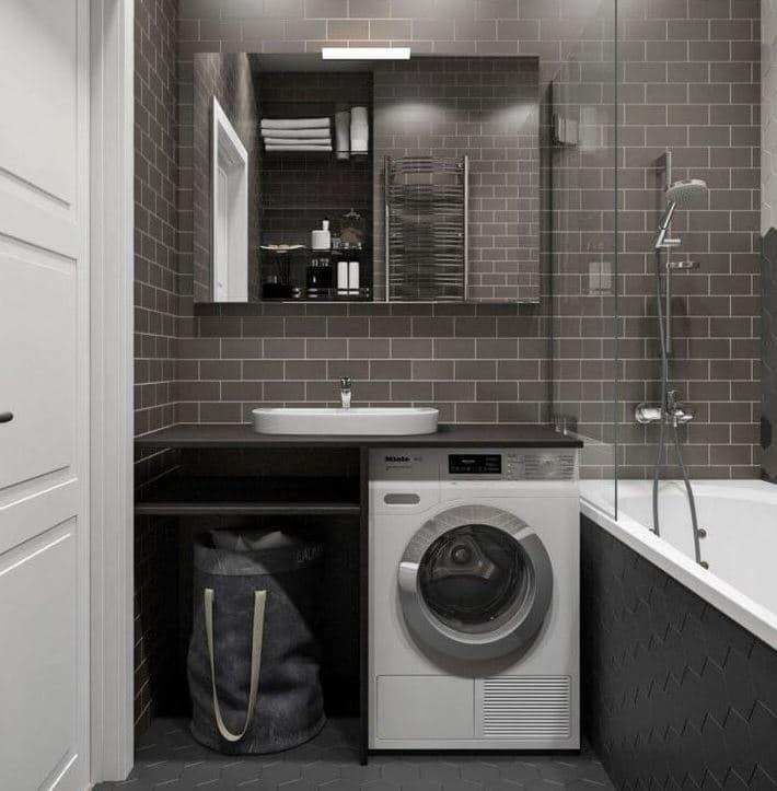 Размещение сантехники в ванной
