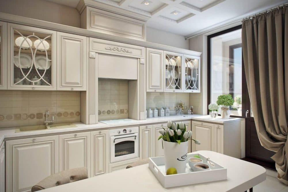Неоклассический кухонный гарнитур