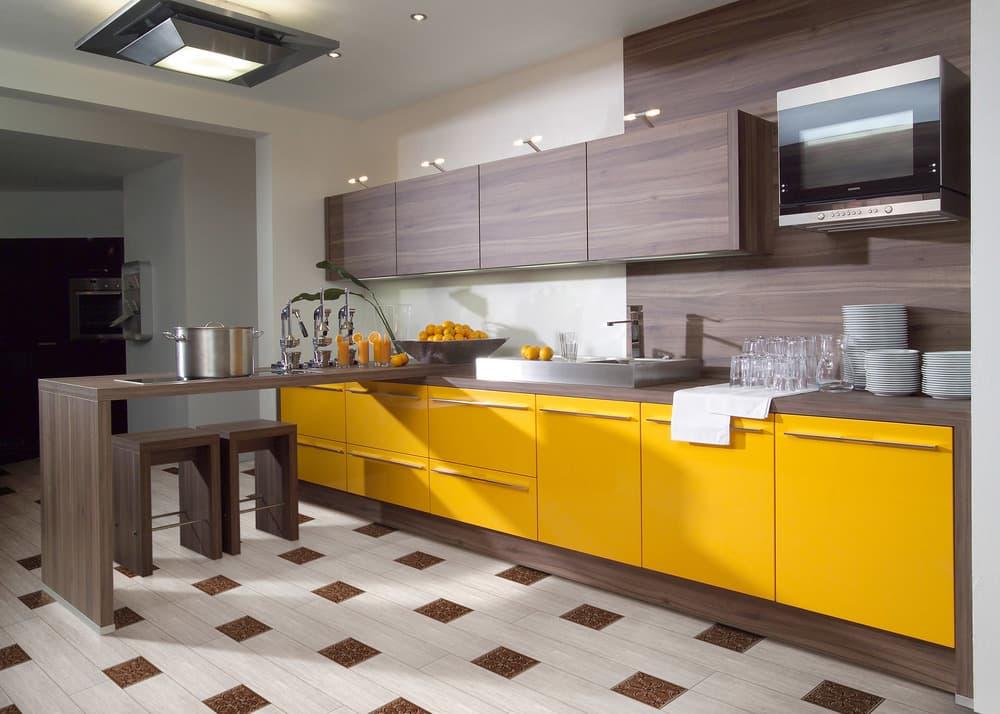 Цветовые решения дизайна кухни