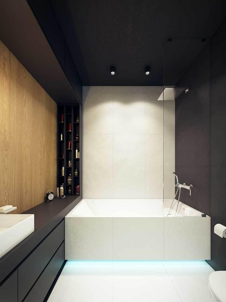 Современный дизайн интерьера ванной