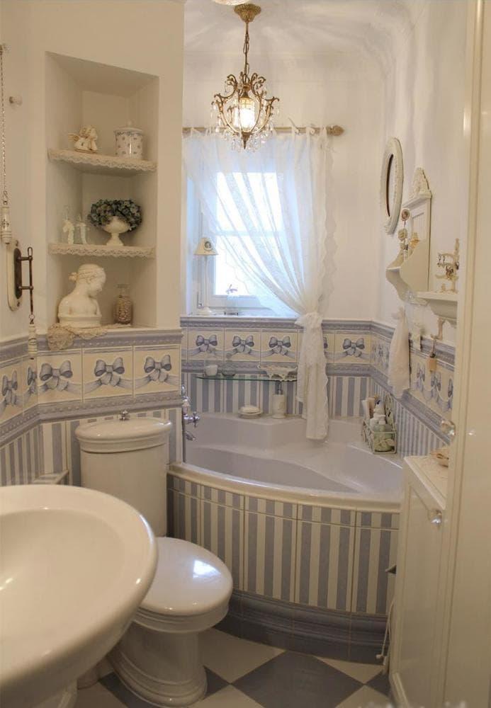 Винтажная ванная комната