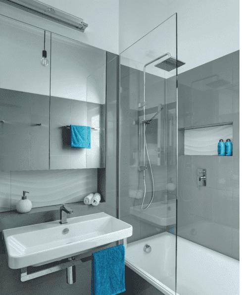 Ванная комната небольших размеров