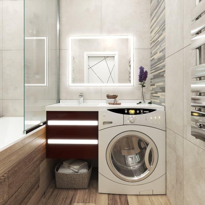 Ванная комната в хрущевке: 40+ реальных фото примеров