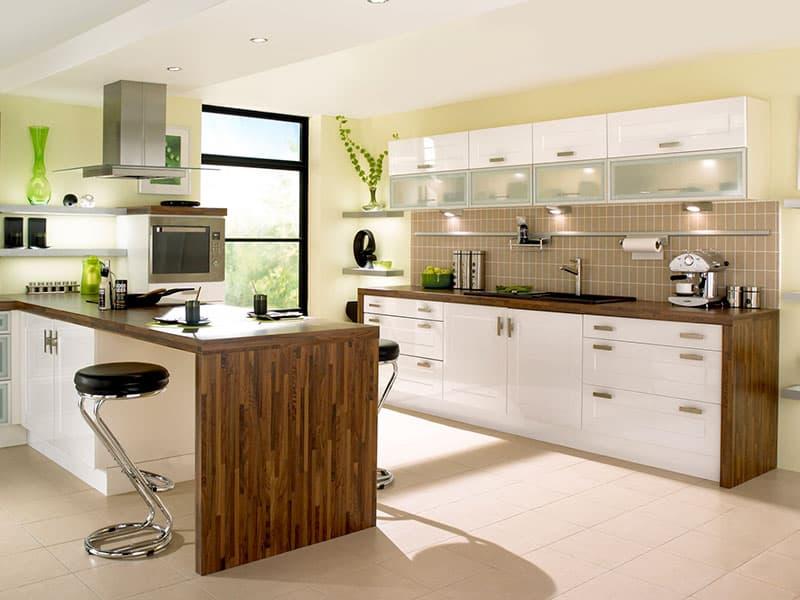 Стильная современная кухня