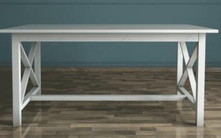 Акцентный, консольный или боковой? Выбираем стол для вашего дома