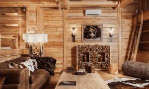 Чем обшить стены внутри деревянного дома