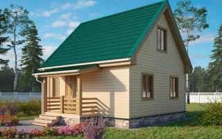 Дача 6 на 6: преимущества небольших деревянных домиков и особенности их возведения