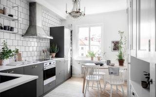 Кухня в скандинавском стиле: особенности дизайна и интерьера
