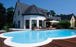 Планировка дома с бассейном: разновидности бассейнов и целесообразность конструкции