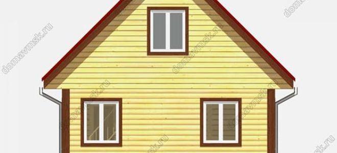 Планировка дома 6 на 6: особенности зонирования пространства