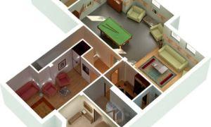 Планировка квартир в доме 121 серии