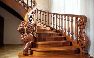 Преимущества лестниц и перил из дерева