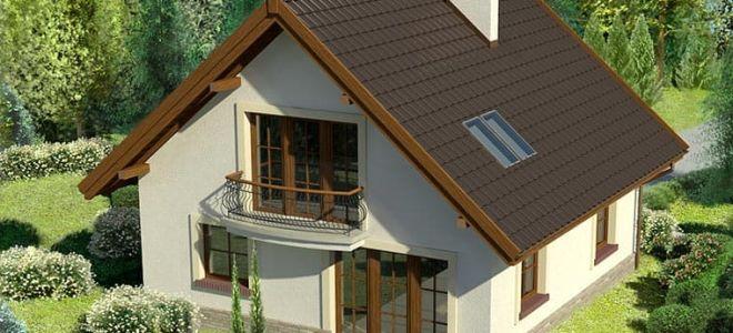 Особенности проектирования дома 10 на 10 с мансардой: зонирование помещений и стоимость постройки
