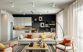 Хитрости планировки кухни-гостиной 17 кв. м: дизайн и зонирование пространства