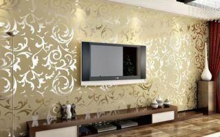 Топ 3 покрытий для стен в гостиной