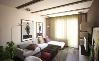 Особенности дизайна небольшой гостиной 12 кв. м: лучшие варианты интерьера