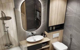 Лучшие решения и проекты ванной комнаты размером 5 кв. м: дизайн и планировка