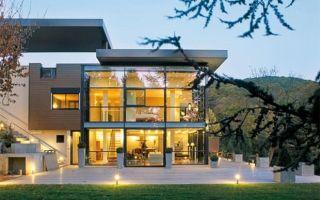 Нюансы планировки дома в стиле хай-тек